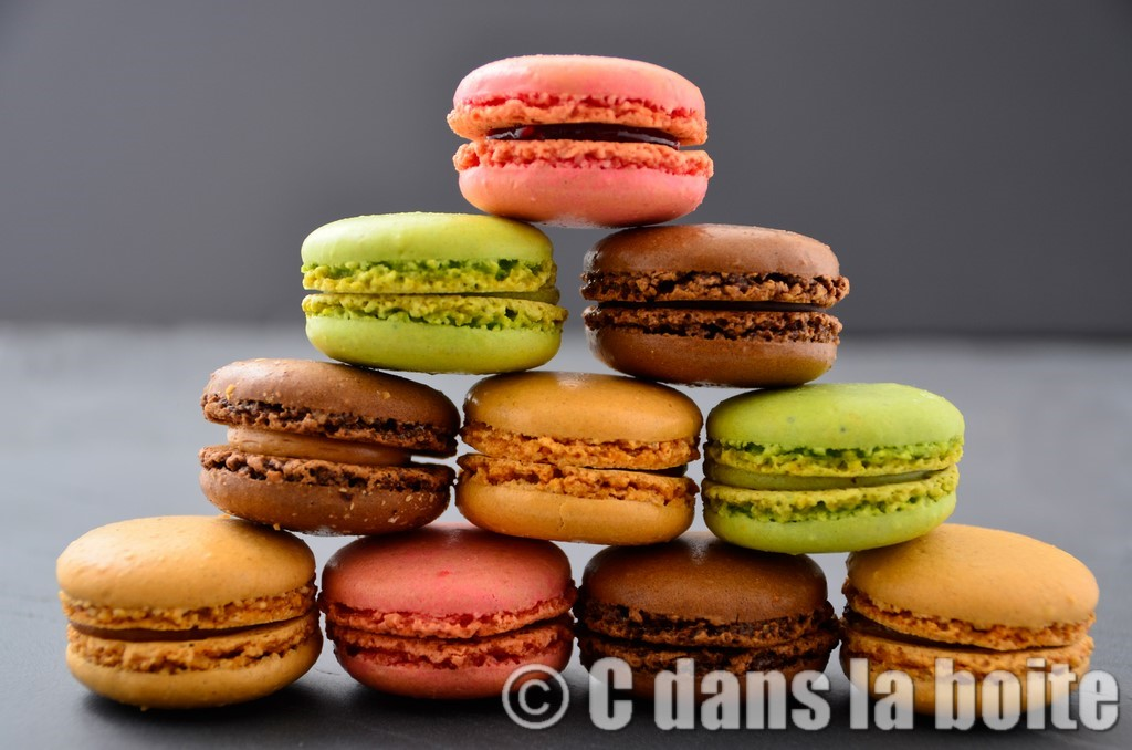 photo culinaire gastronomie macarons